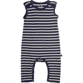 Elkline Beachbaby Overall Baby Blueshadow-White